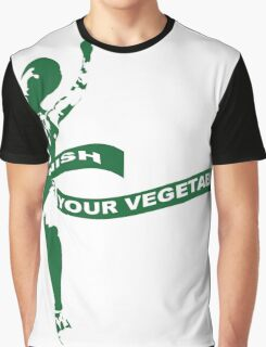 Finish Your Vegetables Graphic T-Shirt
