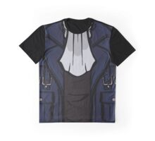 Cid's Jacket and Scarf Graphic T-Shirt