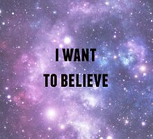 I Want to Believe by fleekyfangirl