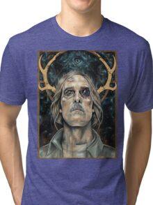 Rust Tri-blend T-Shirt