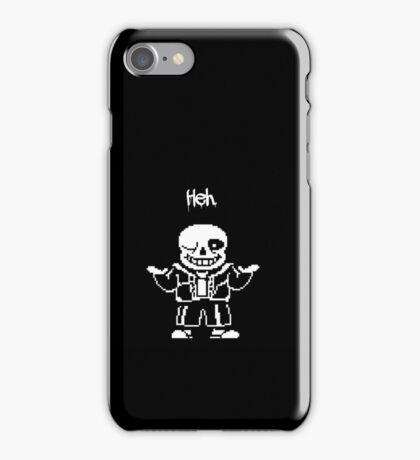 Sans in Undertale iPhone Case/Skin