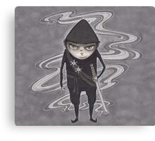 Ninja Elf Canvas Print