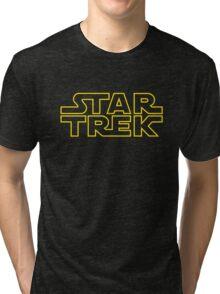 Star Trek - Star Wars Tri-blend T-Shirt