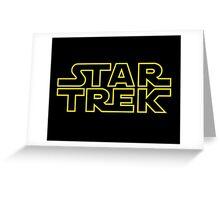 Star Trek - Star Wars Greeting Card