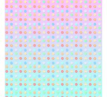 ♥♥♥ THE PASTEL PLANETS OF THE SOLAR SYSTEM PATTERN ♥♥♥ Photographic Print
