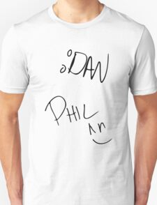 Dan and Phil Autographs T-Shirt