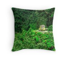 Legendary Roads: Death Road Throw Pillow