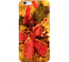 Christmas Pine Cone iPhone Case/Skin
