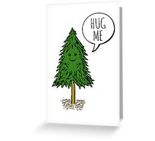 Treehugger Greeting Card