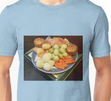 Roast Chicken with Vegetables Unisex T-Shirt