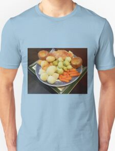 Roast Chicken with Vegetables T-Shirt