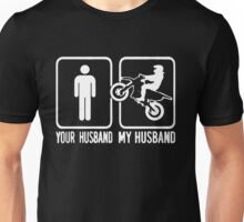 MY MOTOCROSS HUSBAND Unisex T-Shirt