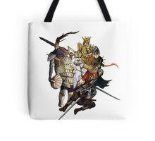 Brave Undead (No Text) Tote Bag