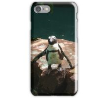 """Back-footed Penguin"" by Carter L. Shepard""  iPhone Case/Skin"