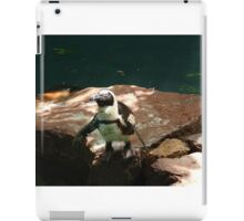 """Back-footed Penguin"" by Carter L. Shepard""  iPad Case/Skin"
