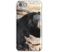 """Black Bear"" by Carter L. Shepard""  iPhone Case/Skin"