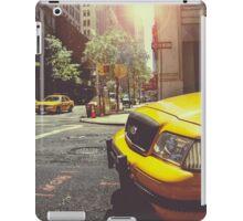 Yellow Taxi iPad Case/Skin