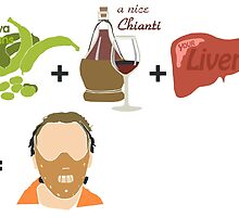 Quotes and quips - fava beans, chianti and liver by MelisaOngMiQin