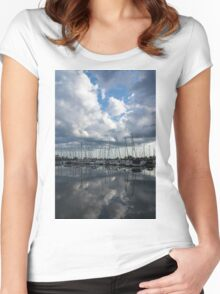 Boats Women's Fitted Scoop T-Shirt