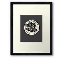Cabot Cove Detective Agency Framed Print