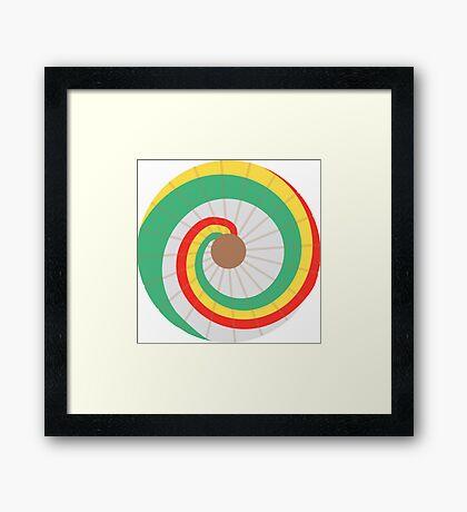 Kaylee's Parasol - Large Framed Print
