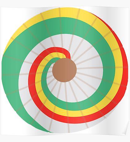 Kaylee's Parasol - Large Poster