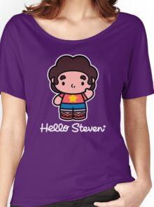 Hello Steven Women's Relaxed Fit T-Shirt