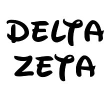 Delta Zeta - Disney Photographic Print