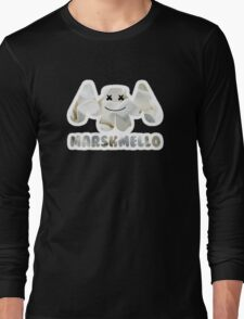 Marshmellow design with stroke Long Sleeve T-Shirt