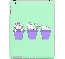 Cat Plants iPad Case/Skin