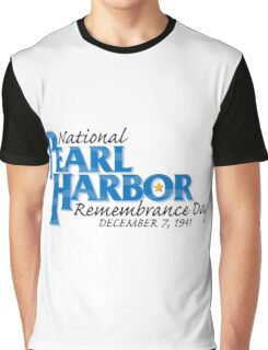 Pearl Harbor Remembrance Day Logo Graphic T-Shirt