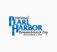 Pearl Harbor Remembrance Day Logo Unisex T-Shirt