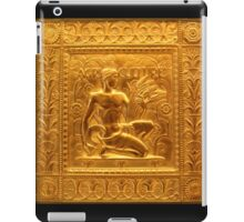 Embossed Brass Agriculture Panel - Fisher Building  iPad Case/Skin