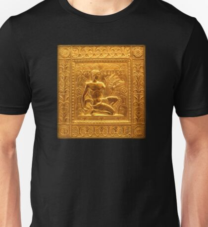 Embossed Brass Agriculture Panel - Fisher Building  Unisex T-Shirt