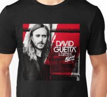 David Guetta Listen Again by rr Unisex T-Shirt