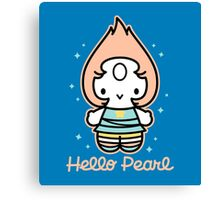 Hello Pearl Canvas Print