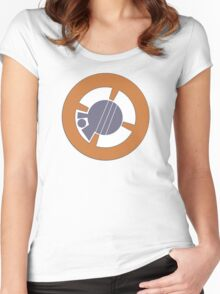 BB8 Logo Women's Fitted Scoop T-Shirt