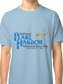 Pearl Harbor Remembrance Day 75th Anniversary Logo Classic T-Shirt
