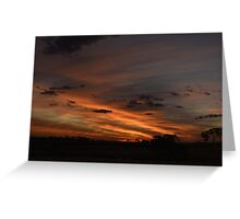 Dumbleyung Sunset Greeting Card