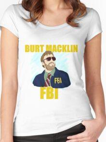 Burt Macklin : FBI  Women's Fitted Scoop T-Shirt