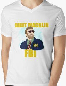 Burt Macklin : FBI  Mens V-Neck T-Shirt