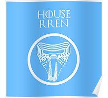 """House Rren"" - Disney Meets Game of Thrones Poster"