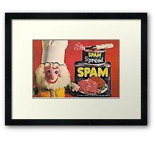 Spam Framed Print
