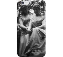 Cemeteries - statue, Allegheny (2009) iPhone Case/Skin