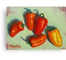 Petite Peppers Canvas Print