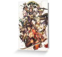Blade and Soul Greeting Card