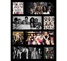 Gossip Girl Cast Photographic Print