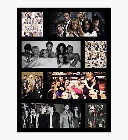 Gossip Girl Cast Photographic Print