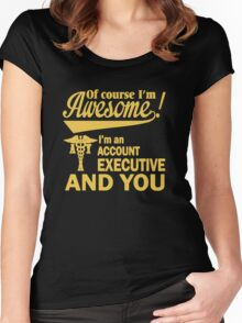 I'm An Account Executive Women's Fitted Scoop T-Shirt