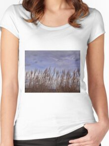 Swaying in the wind Women's Fitted Scoop T-Shirt